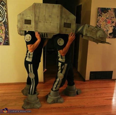 costume wars star imperial costumes halloween walker lego homemade works cosplay couples disfraz contest pretty luke atat fans ship funny