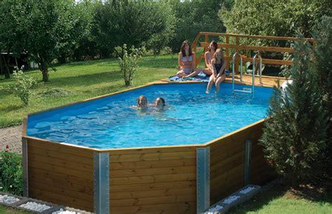 Swimmingpool Aus Holz by Swimmingpool Aus Holz Pool Mit Holz Aus Polen
