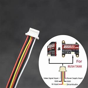 10cm Fpv Video Transmitter Connection Cable Wire For