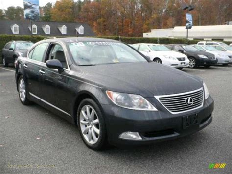 lexus gray 2008 lexus ls 460 in smokey granite gray mica photo 9