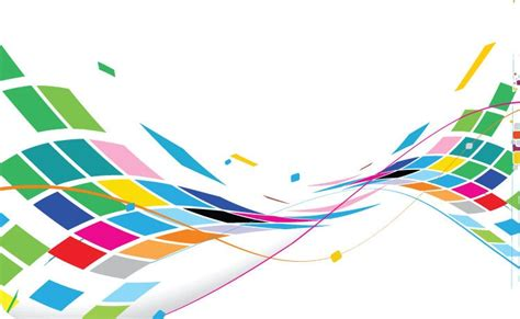 free graphic design abstract wavy design colorful background vector free