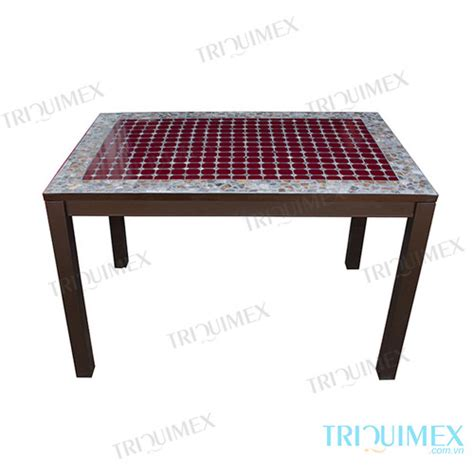 wrought iron patio table rectangular rectangular wrought iron and mosaic table for outdoor use