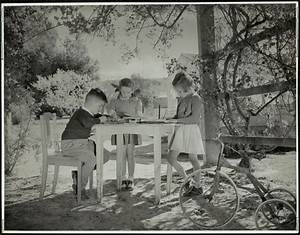 Correspondence School - These children on a property near ...