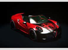 Alfa Romeo 4C custom by Gabriele RaceDepartment