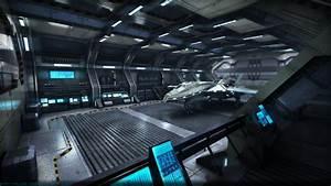 Sci-Fi Hangar by Vattalus on DeviantArt