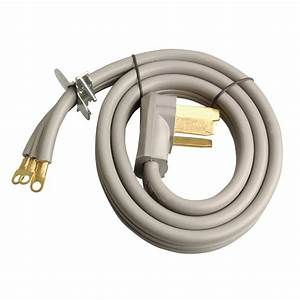 Electricord 49614 3 Wire  4 Ft  Electric Range Cord