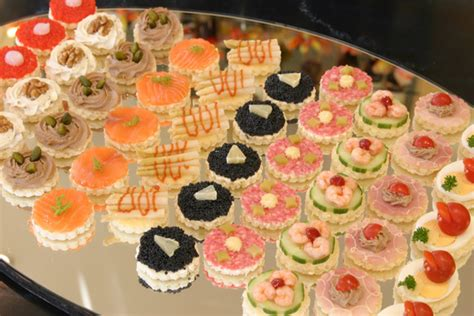 canapes aperitif patisserie delices bienvenue