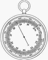 Barometer Aneroid Properties Air Fig Sketch Science Template Coloring Metal sketch template