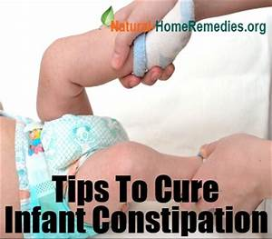 Causes of Infant Constipation & Home Remedies For Infant ...
