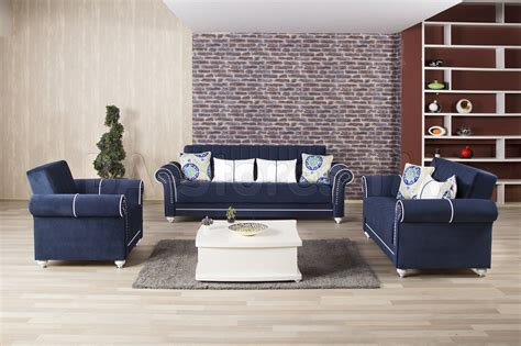 blue sofa and loveseat sets blue sofa sets furniture of america othello 2 royal blue