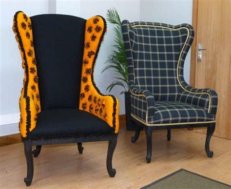siege baroque fauteuil baroque dossier haut appeal avec tartan