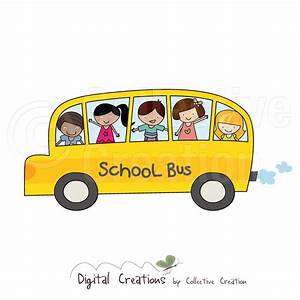 Cute School Bus Clipart (56+)