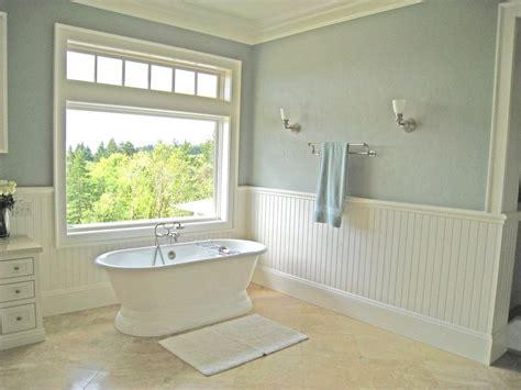 master bath travertine white almond wall color