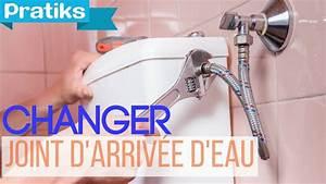 Comment Demineraliser De L Eau : comment changer le joint d 39 arriv e d 39 eau des toilettes youtube ~ Medecine-chirurgie-esthetiques.com Avis de Voitures