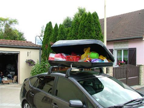 fixation coffre de toit sur barres de toit ou galerie de
