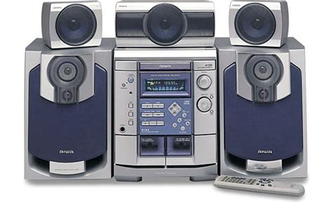 Aiwa Nsx-ds50 Home Theater Shelf System With Dolby
