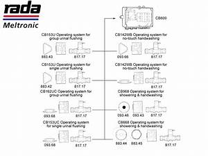 Rada Cb600 Operating Systems Shower Spares And Parts