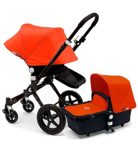 bugaboo cameleon 1 bugaboo 2015 cameleon 3 stroller all black orange