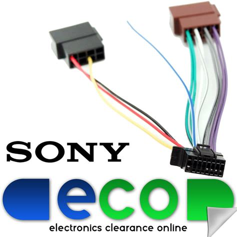 Sony New Style Pin Car Stereo Wiring Harness Iso