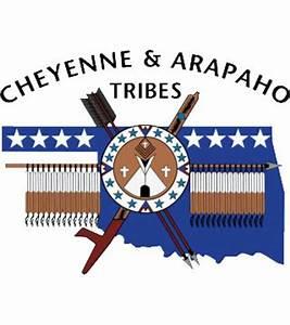 Cheyenne & Arapaho Tribal Logo Black CATV47 WEB STORE