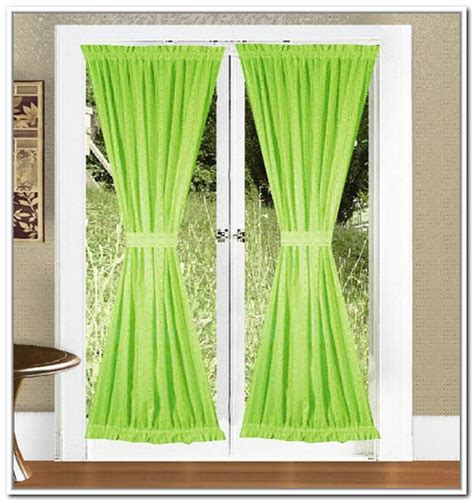 sash curtain rod for door panels window treatments