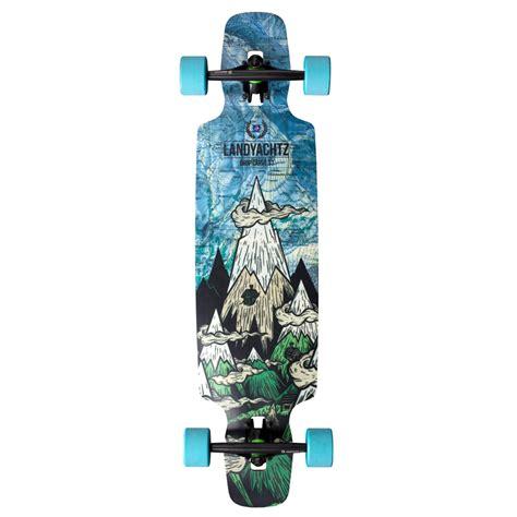 Drop Deck Longboard Landyachtz by Landyachtz Drop Carve 37 Longboard Complete Evo