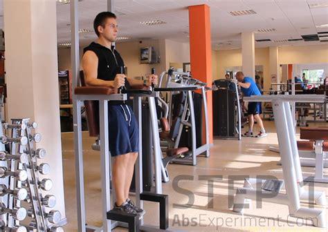 captains chair leg raise form captains chair knee raise 212 more effective than crunches