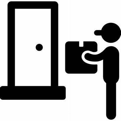 Delivery Icon Goods Door Icons Doorstep Svg