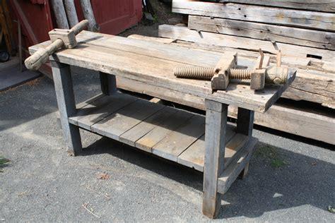 antique workbench transformation finewoodworking