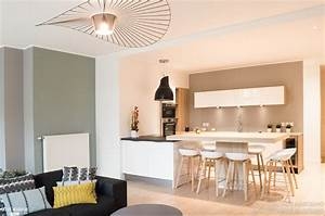 Deco Piece A Vivre Avec Cuisine Ouverte : pi ce de vie la d co pur e et scandinave colombe ~ Premium-room.com Idées de Décoration