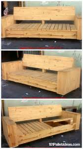 Wood Pallet Sofa by Best 25 Pallet Sofa Ideas On Pinterest Pallet Furniture