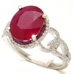 garnet wedding ring set oval cut ruby diamonds engagement ring ru900