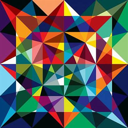 Geometric Quilt Pattern Deconstructed Reconfigured Vectorfunk Ello