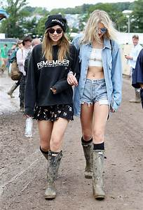Glastonbury Street Style 2016 What Celebrities Wore to the Festival | StyleCaster