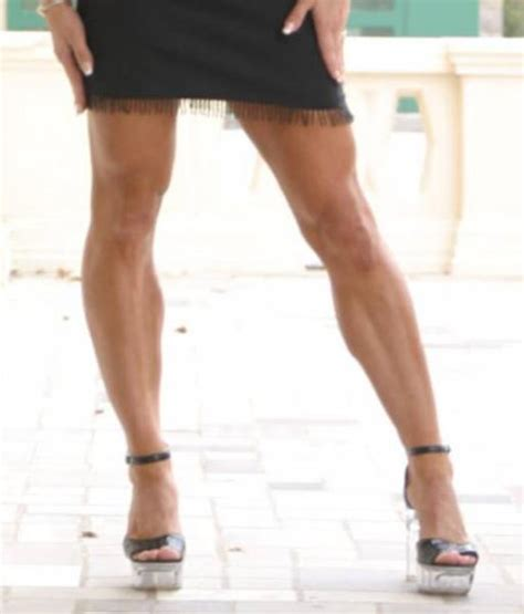 Female Athletic Legs Wild Anal