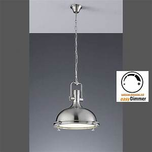 Lampe Vintage Look : h ngeleuchte industrial design in nickel vintage look ~ Sanjose-hotels-ca.com Haus und Dekorationen
