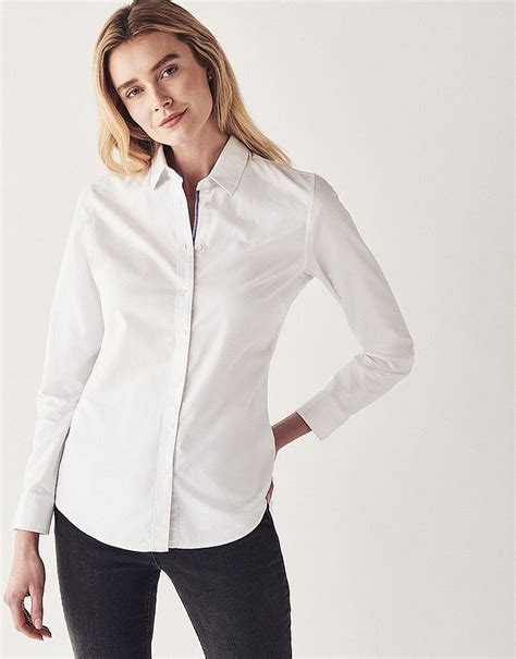 s heritage classic oxford shirt in optic white from