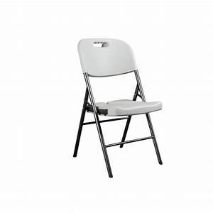 Chaise Pliante Exterieur : chaise pliante chaise d appoint blanc achat vente fauteuil jardin chaise pliante cdiscount ~ Teatrodelosmanantiales.com Idées de Décoration