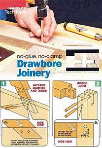Drawbore Joinery