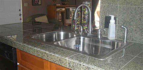 install  granite tile countertop todays homeowner