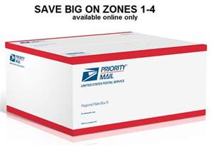 USPS Priority Mail Regional Rate Box A