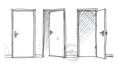 dessin porte ouverte Recherche Google portes fenêtres rangements Pinterest