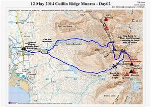 Peak Bagging - The Scottish Munros  Cuillin Ridge Day02