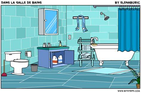cuisine brillant la classe de français dans la salle de bains image à