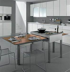 modern tables for small kitchens show adjustable With furniture for kitchenette