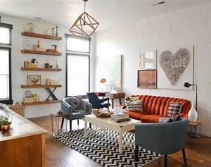 Tapis Salon Scandinave : mobilier au design vintage scandinave relooker meubles ~ Teatrodelosmanantiales.com Idées de Décoration