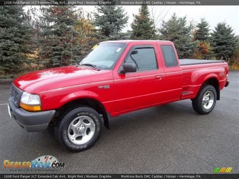 1998 ford ranger xlt extended cab 4x4 bright medium graphite photo 2 dealerrevs