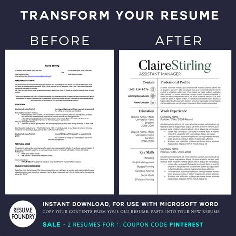 Average Resume Word Count by 17 Best Images About Resume Templates Etsy On