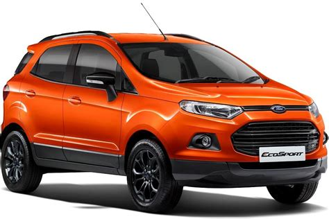 ford ecosport  price colors mileage specifications