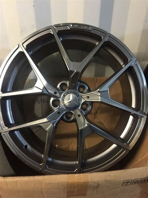 """You'll receive email and feed alerts when new items arrive. BRAND NEW 19"""" MERCEDES AMG ALLOY WHEELS BLACK SERIES 2017 MODEL C CLASS E CLASS S CLASS C63 E63 ..."""